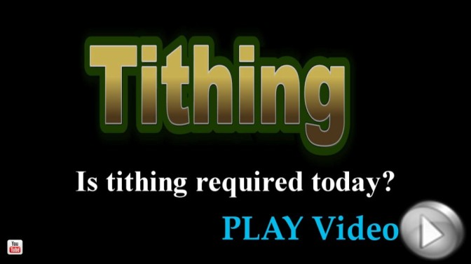 The truth about tithing