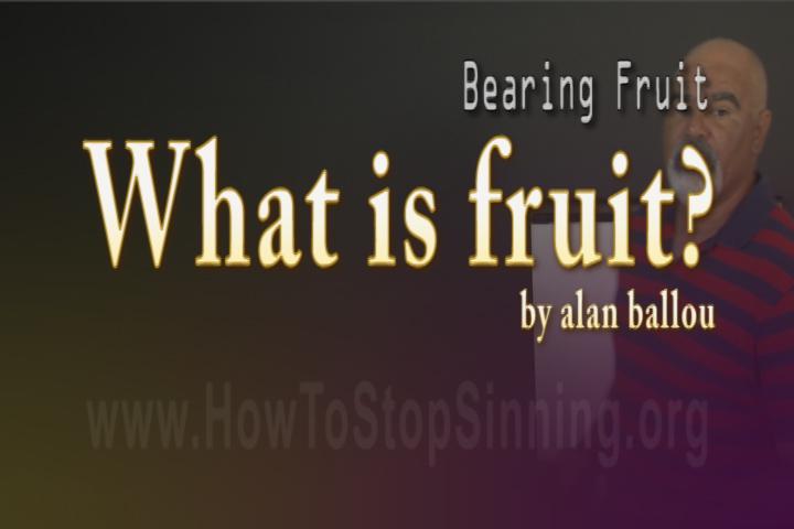 What is bearing fruit
